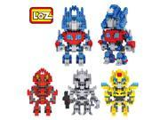 LOZ Gift Series Diamond Building Blocks - Transformers Set of 4 9SIA7CR2K39695
