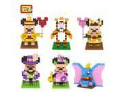 LOZ Diamond block Mickey Minnie Mickey Mouse 910PCS 6Set Building Toys - Blocks 9SIA7CR2KJ7945