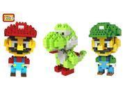3 Set Mario Bros Yoshi Mario Luigi Toy Nintendo Miniv Figures LOZ Blocks Gift 9SIA7CR2TP3284