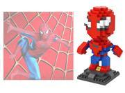 LOZ 9456 240pcs Spiderman Super Hero Avengers Building Blocks Toy 9SIA7CR31M6832