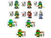 Dr Star LOZ 10-Set V.1 Teenage Mutant Ninja Turtles Leonardo 2191Pcs Building Diamond Blocks Brick Toy 9SIA7CR3538372