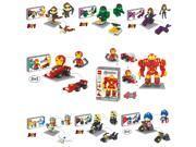 DR STAR Avenger 8Set 3In1 Super Hero Ironman Hulk Nick Thor 2657 Pcs Building Blocks Toy 9SIA7CR35U9758