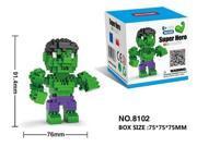 Hsanhe 8102 Super Hero Avenger Hulk 250Pcs Building Blocks Toy 9SIA7CR35U9817