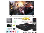 MX-Plus Smart TV Box 4K Ultra HD Android 5.1 Quad Core 2.0GHz RAM:1GB/ROM:8GB Media Player