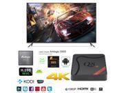 Q8 Smart TV Box 4K Ultra HD Android 5.1 Quad Core 2.0GHz RAM:1GB/ROM:8GB OTT IPTV Media Player
