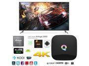 Q Smart TV Box 4K Ultra HD Android 5.1 Quad Core 2.0GHz RAM:2GB/ROM:16GB OTT IPTV Media Player