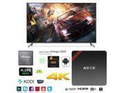 A95X NEXBOX Smart TV Box 4K Ultra HD Android 6.0 Quad Core 2.0GHz RAM:1GB/ROM:8GB OTT IPTV Media Player