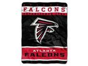 "Atlanta Falcons 60""x80"" Royal Plush Raschel Throw Blanket - 12th Man Design"