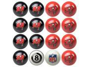 Tampa Bay Buccaneers NFL 8-Ball Billiard Set
