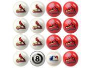 St. Louis Cardinals MLB 8-Ball Billiard Set