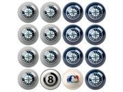 Seattle Mariners MLB 8-Ball Billiard Set