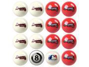 Atlanta Braves MLB 8-Ball Billiard Set