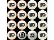 Philadelphia Flyers NHL 8-Ball Billiard Set