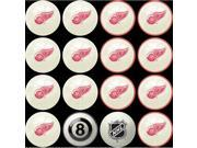 Detroit Red Wings NHL 8-Ball Billiard Set