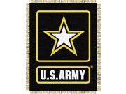 U.S. Army Military 48x60 Triple Woven Jacquard Throw 9SIA17P43Z8358