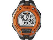 Timex T5K529 Ironman Men's Watch - Orange Case & Black Band - Digital 30-Lap