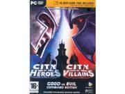 City of Heroes & City of Villains - Combined Edition & 15 Day Time Card bundle