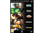 Tom Clancy Collection (5 game pack, incl Ghost Recon Advanced Warfighter) (PC DVD)
