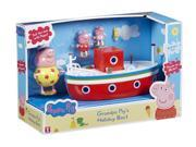 Peppa Pig Grandpa Pigs Holiday Boat