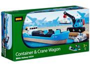 Container and Crane Wagon