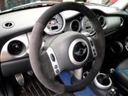 MINI Cooper 2001-06 steering wheel cover 2-spoke by RedlineGoods