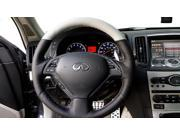 Infiniti G35 sedan 2007-09 steering wheel cover by RedlineGoods