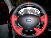Ford Focus 2000-06 steering wheel cover by RedlineGoods