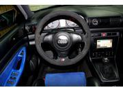 Audi A4 1996-01 steering wheel cover by RedlineGoods