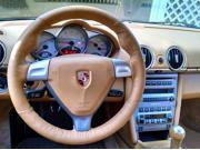 Porsche 911 2005-12 steering wheel cover by RedlineGoods