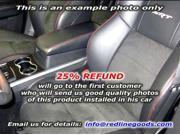 Chrysler 300 2005-10 armrest cover 2 (2008-10) by RedlineGoods