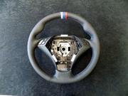 BMW 5-series 2003-10 steering wheel cover by RedlineGoods
