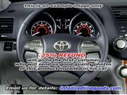 Toyota Camry 2007-11 steering wheel cover by RedlineGoods