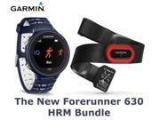 Garmin Forerunner 630 GPS Watch Midnight Blue Smartwatch HRM Heart Rate Monitor Sport Running Athlete New Latest Model 2016 edition