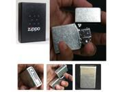 Zippo Bottomz Up Nickel Lighter Made in USA /GENUINE and ORIGINAL Packing