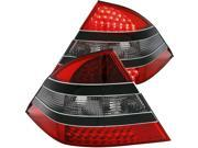 Red Smoke LED Taillights - Anzo
