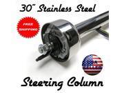 "Helix Suspension Brakes and Steering STV709278 1940 Ford Standard 30"" Stainless Steel Steering Column custom super show"