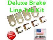 Helix Suspension Brakes and Steering BRAKE LINE TAB KIT 626874 1961 - 1966 Ford Truck Econoline Deluxe Brake Line Clip Tab Kit weld on set 4x 9SIA7GW3Z02210