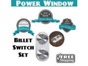 Keep It Clean Wiring Accessories Billet Button 1060804 1959 - 1967 El Camino Premium Power Window Buttons