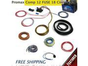 Keep It Clean Wiring Accessories TTC579568 12v 18 Circuit 12 Fuse Universal Wiring Harness Kit dune buggy 1946 ford