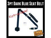 Super Seat Belts HMB1052509 1967 Chevrolet Chevelle 3pt Retractable Dark Blue Seat Belt