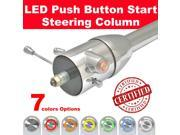 StreetRod Steering Supply Company 1536350020 45FD3 1936 1950 Cadillac Push Button Start Steering Column chrome floor shift 32