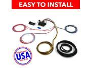 USA Wire Harness 38D93 FITS AUTOWIRE LOOM Wire Harness Fuse Block Upgrade Kit for 98 00 Cadillac Seville Stranded Insulati