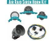 Trigger Horns Siren Horn Kit 1040202 1992 Jeep Comanche Air Raid Siren Horn Kit w/ Relay, Harness & Breaker super