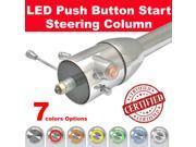 StreetRod Steering Supply Company 1536330010 46104 1940 Ford Push Button Start Steering Column tilt floor shift chrome 32