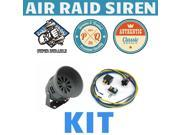 Trigger Horns Siren Horn Kit 1044218 1989 Pontiac Firefly Air Raid Siren Horn Kit w/ Relay, Harness & Breaker tornado