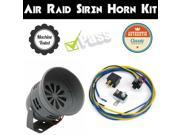 Trigger Horns Siren Horn Kit 1041363 1963 Chevrolet Bel Air Air Raid Siren Horn Kit w/ Relay, Harness & Breaker lound