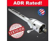 StreetRod Steering Supply Company 1120300010 45BFD 1989 Pontiac Grand AM 32 Chrome Tilt Steering Column No Key Floor Shift