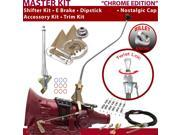 American Shifter Company ASCS1C7F32G1H FMX Shifter Kit 23 Swan E Brake Cable Clamp Trim Kit Dipstick For F5A00