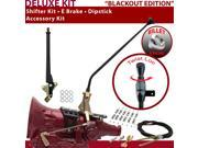C4 Shifter Kit 23 E Brake Cable Clamp Dipstick For F8411 mustang zephyr fairmont bronco ford torino maverick capri comet monarch f-series ltd montego granada ra