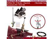 American Shifter Company ASCS1C1G31D1D 4L80E Shifter Kit 6 E Brake Cable Trim Kit Dipstick For D44FB